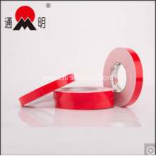 Red Film Adhesive Pet Foam Tape