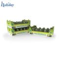 Light Duty Recyclable Fruit Vegetable Shelf,Cardboard Shelf For Supermarket