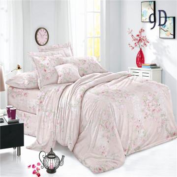 Индивидуальные комплекты постельного белья из простой вуали с принтом из полиэстера