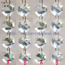 Fashion Clear Octagon Bead Chain