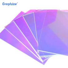 Grandview holographic rainbow glitter acrylic panel