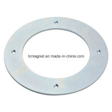 Ring Magnets with Holes