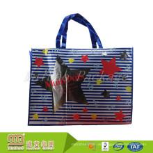 Kundenspezifische Entwurfs-Mode-Art AZO geben pp. Einkaufstüte-nichtgewebte Tasche mit glatter Laminierung frei