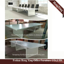 Hx-5n255 White Color 8 Persons Size Meeting Room Office Desk