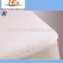 Factory wholesale terry cloth sheet set fitted sheet mattress cover