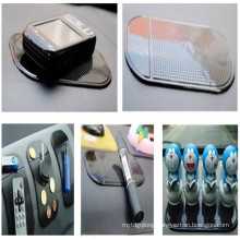 Car mounted PU cell phone nano slip pads