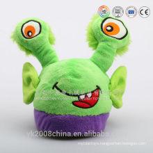 OEM customization plush toys factory/custom plush spider slippers