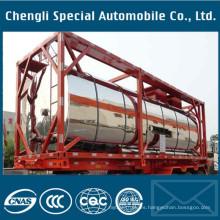 Contenedor de tanque VIP ISO 20FT para transporte de almacenamiento de combustible químico