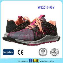 Dernières chaussures en gros de sport de baskets de conception pour la femme