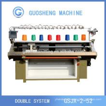 máquina de confecção de malhas lisa auto 56 polegadas com comb(GUOSHENG)