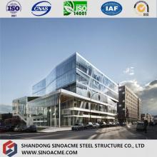 Construcción / Exposición Estructural De Acero Certificado De Estilo Europeo