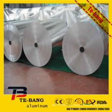 Malasia papel de aluminio envase de alimentos fabricación de máquina papel de aluminio
