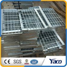 Grades de aço galvanizado lowes degraus de escadas antiderrapantes