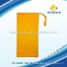 Logo print sunglasses pouch