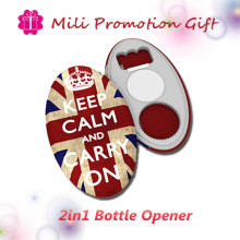 Многофункциональный 2 в 1 функции пива бутылки открывалка металла поощрения подарок
