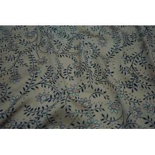 Tissu 100% polyester imprimé satiné marteau Sea Island