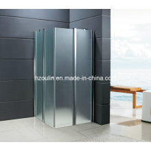 Закаленное душевая комната с Foldng двери (ГП-210)