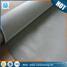 100 tissu de fil tissé d'acier inoxydable de la maille 0.1mm / écran de maille