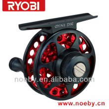 RYOBI Mini cool alloy material cnc Japan fly mini fishing reel