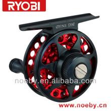 RYOBI Mini material de liga legal cnc Japão voa mini bobina de pesca
