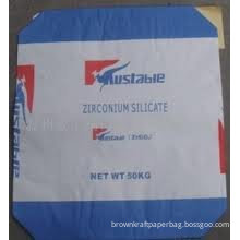 5 - 50 Kg Bleached Or Unbleached Chemical Multi-layer Kraft Cement Paper Bags