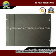 Plaque de base en aluminium usinée CNC