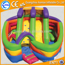 New designed adult inflatable obstacle course, funny outdoor obstacle course equipment