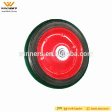 7x1.5 small solid rubber wheel,solid rubber tire