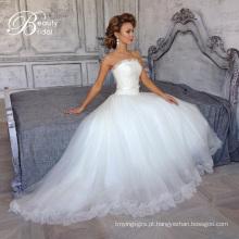 Elegantes vestidos de uma linha Lace 2016 nupcial (SL308-1)