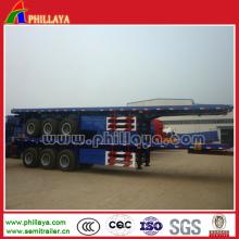 Cimc 3 Achsen Flachbettcontaineranhänger