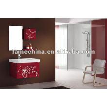 Armário de banheiro em PVC