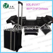 Hair Stylist  Barber Aluminum Mobile Tool beauty Case Cart