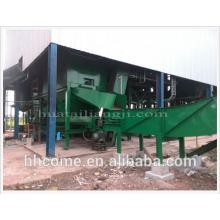 Huatai bruto máquina de refino de óleo de palma para venda