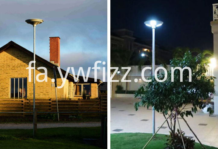 Outdoor Park Lights