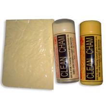 PVA Chamois Towels with Customized Logos, Various Colors and Sizes are Available