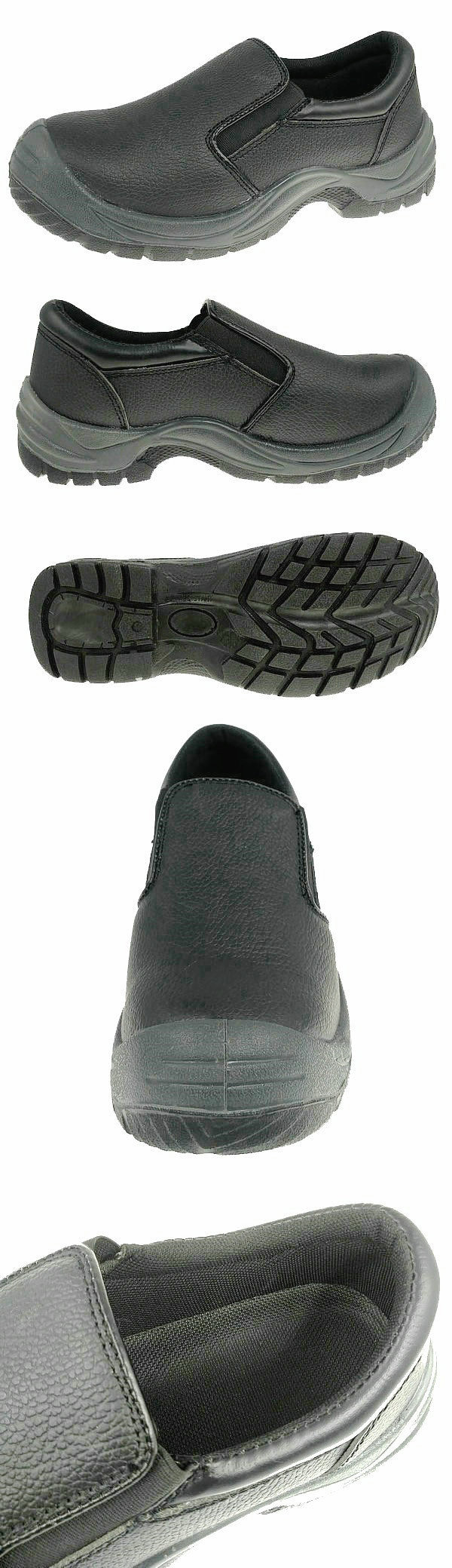 Low Cut Split Cow Leather Safety Footwear