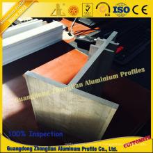 Profil en aluminium industriel de fente de T Bar T de T 9001 universellement utilisé pour la construction