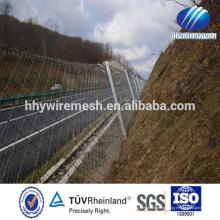 Hohe Qualität SNS Flexible Edelstahl Drahtseil Mesh Slope Passives Schutzsystem