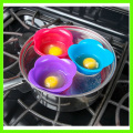 Cute 100% BPA Free Silicone Egg Cookware Cups
