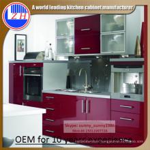 Modern DIY MDF Kitchen Cabinet (customized)