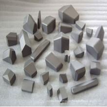 Vários tamanhos e tipos de pontas de mineração de carboneto cimentado