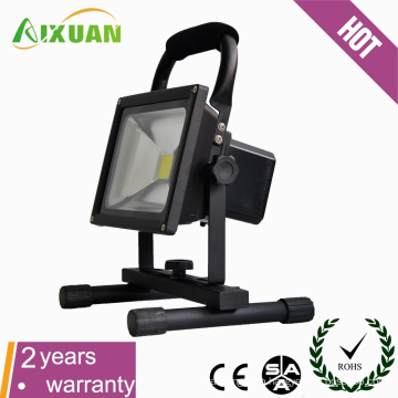 Movable flood lighting led emergency light rechargeable 20w led flood light waterproof