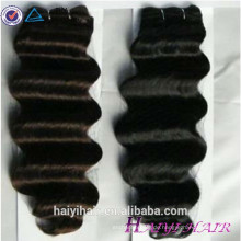Jungfrau-Eurasisches Haar des Großhandelsreine Haar-6A volle Häutchen-Doppelt-Schuss-100 unverarbeitete billig Jungfrau-eurasische tiefe Wellen-Haar