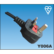 UK BSI Power Cable Plug