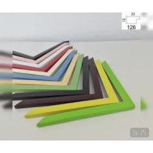 Usine ps cadre photo moulage en plastique cadre moulure