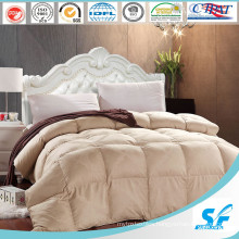 100% Cotton Fabric Washable Sheep Wool Filling Comforter