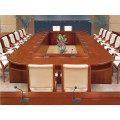 Large Rectangular Shape Meeting Room Table and Chairs