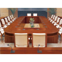 Big Oval Boat Shaped Large Conference Table