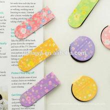 Custom Popular Magnet Bookmark Libros de lectura Accesorios