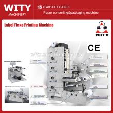 Máquina de impresión flexográfica de 2 colores